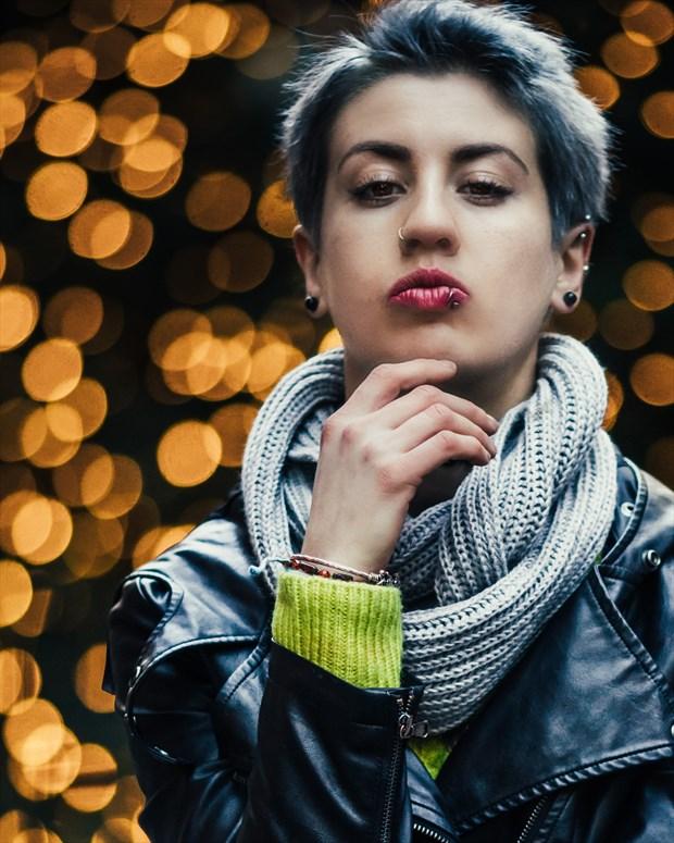Queen Self Portrait Photo by Model Natalia Pillgim