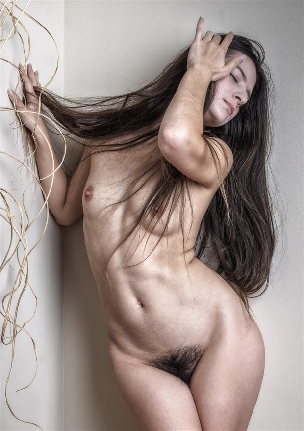 Queen at the Wall Artistic Nude Photo by Photographer rick jolson
