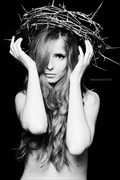 Queen of Thorns Emotional Photo by Model Alessandra