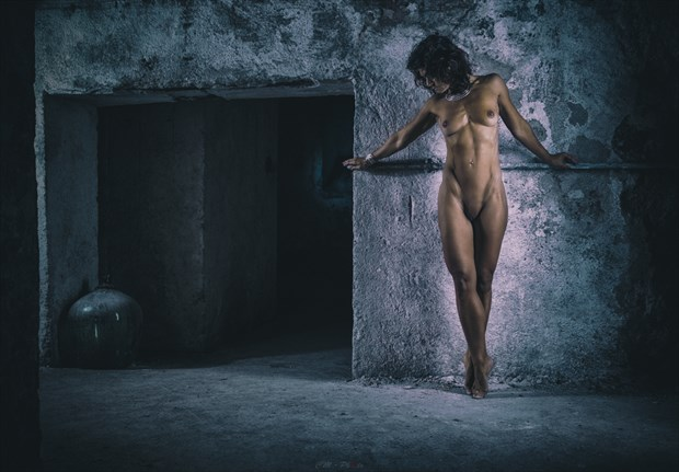 Queen of darkness Artistic Nude Artwork by Photographer CM Photo