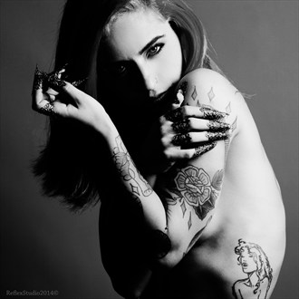Queen of emperors Tattoos Photo by Model Miele Rancido