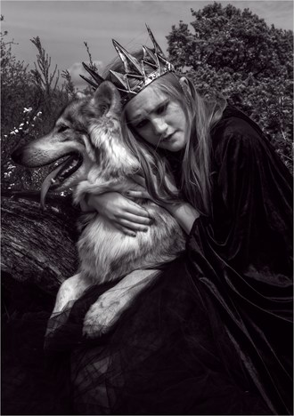 Queens of Wolves  Fantasy Photo by Model Serena Anne