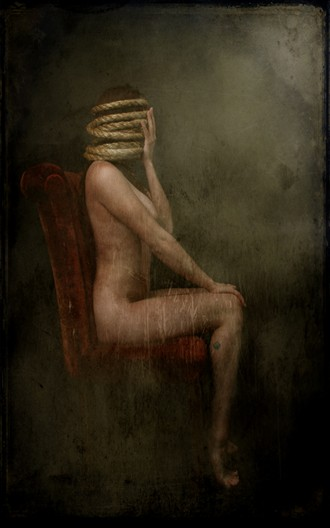 Quiet Artistic Nude Artwork by Model Veronica