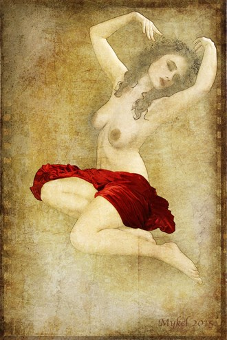 RED ll Artistic Nude Photo by Photographer Mykel