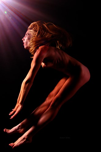 Rachel Lilly   Flying Artistic Nude Photo by Photographer Bit Shifter