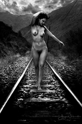 Railway Artistic Nude Photo by Photographer Photowerk