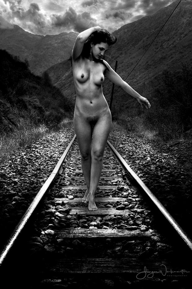 Railway Artistic Nude Photo by Photographer Photowerk