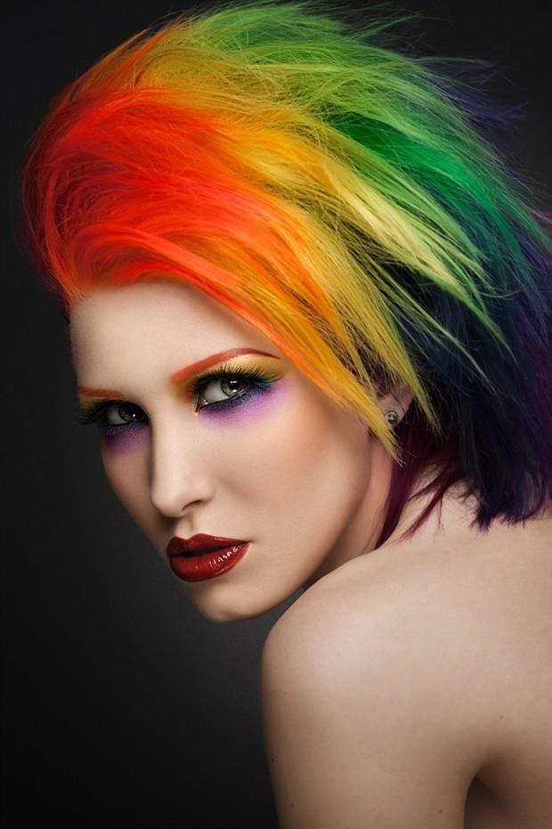 Rainbow Alternative Model Photo by Photographer LowSociety