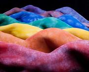 Rainbow Curves Body Painting Photo by Photographer Craig C