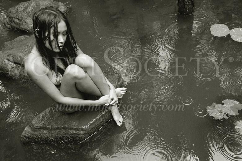 Raining 3 Artistic Nude Photo by Photographer Patrice Delmotte