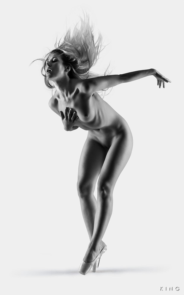 Raphaella Ballet Artistic Nude Photo by Photographer Terry King