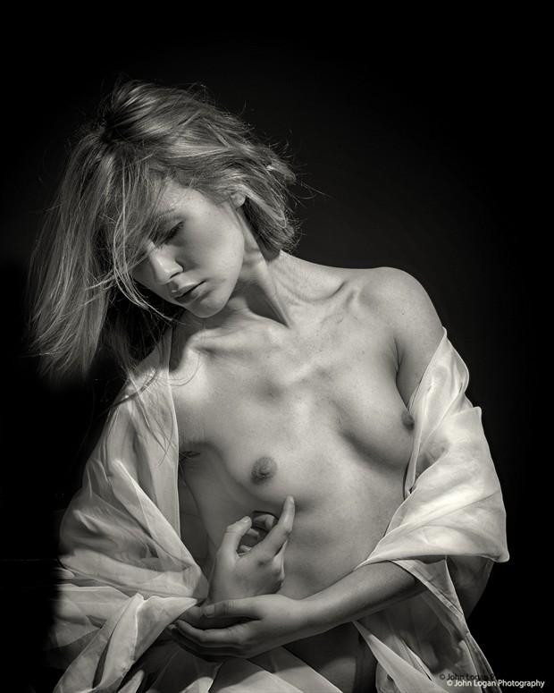 Raphaelle Artistic Nude Photo by Photographer John Logan