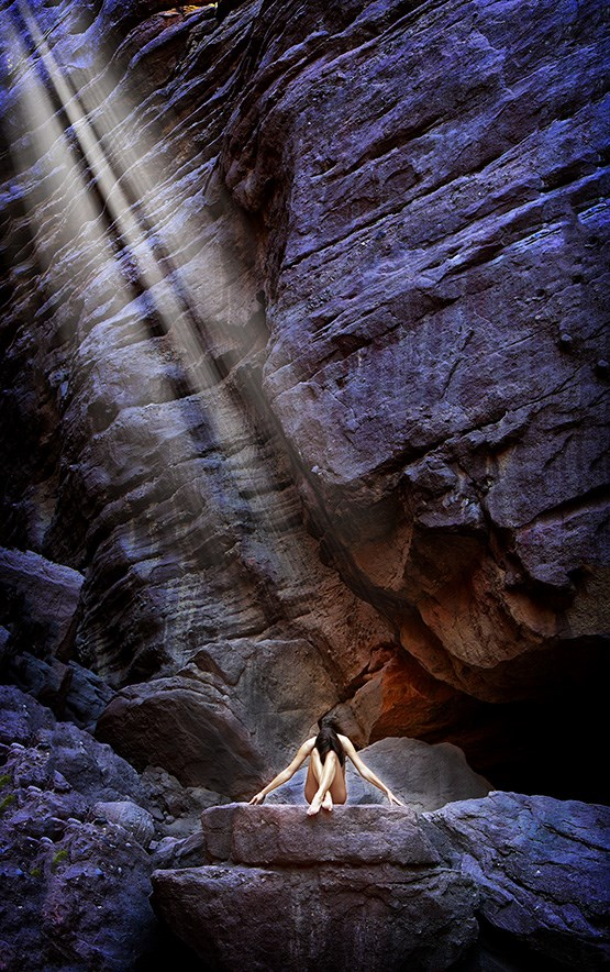 Rays Artistic Nude Photo by Photographer DanWarnerPhotography