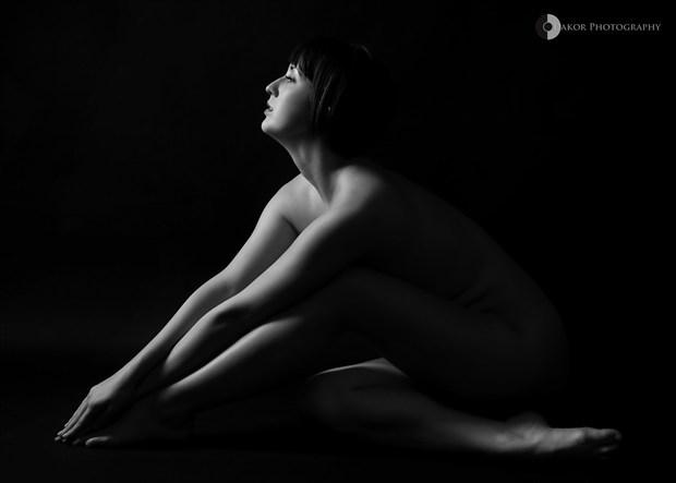 Reach Artistic Nude Photo by Photographer Kor