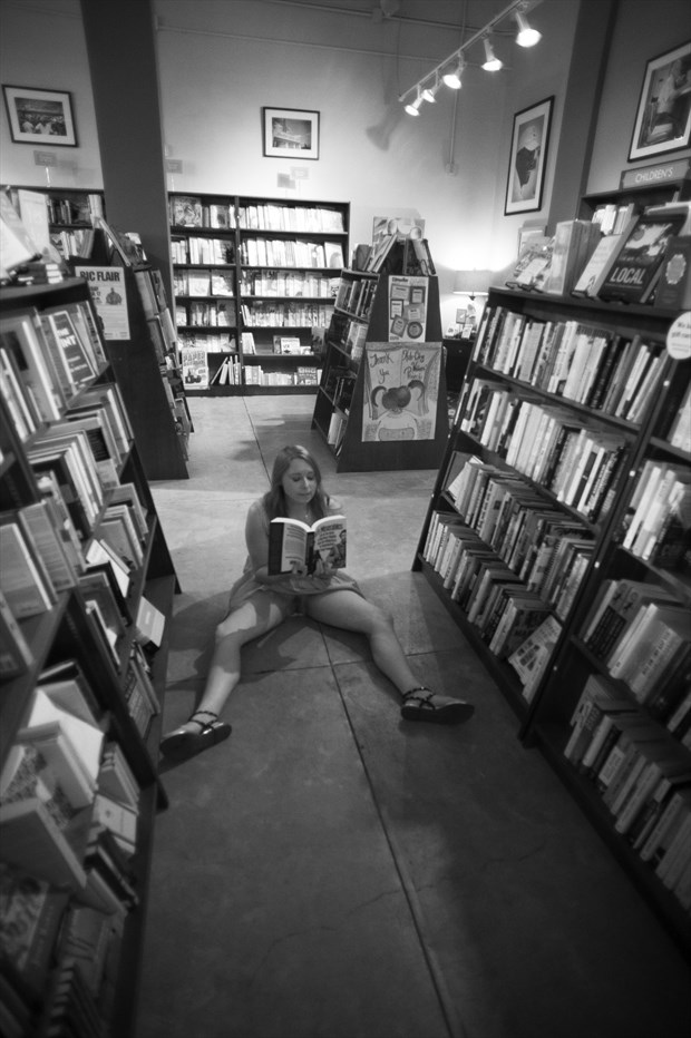 Reading in Greenville Erotic Photo by Photographer daxwax