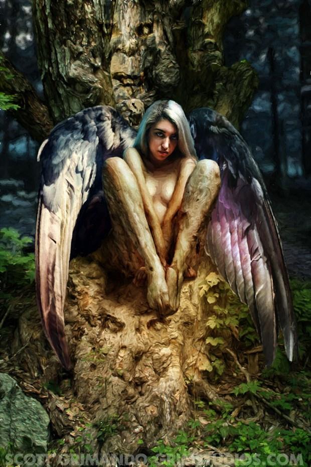 Reaper Surreal Artwork by Artist Scott Grimando