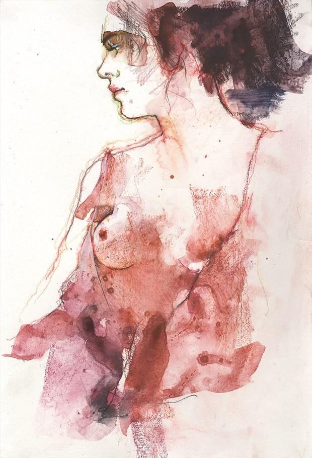 Reb Figure Study Artwork by Artist JonD