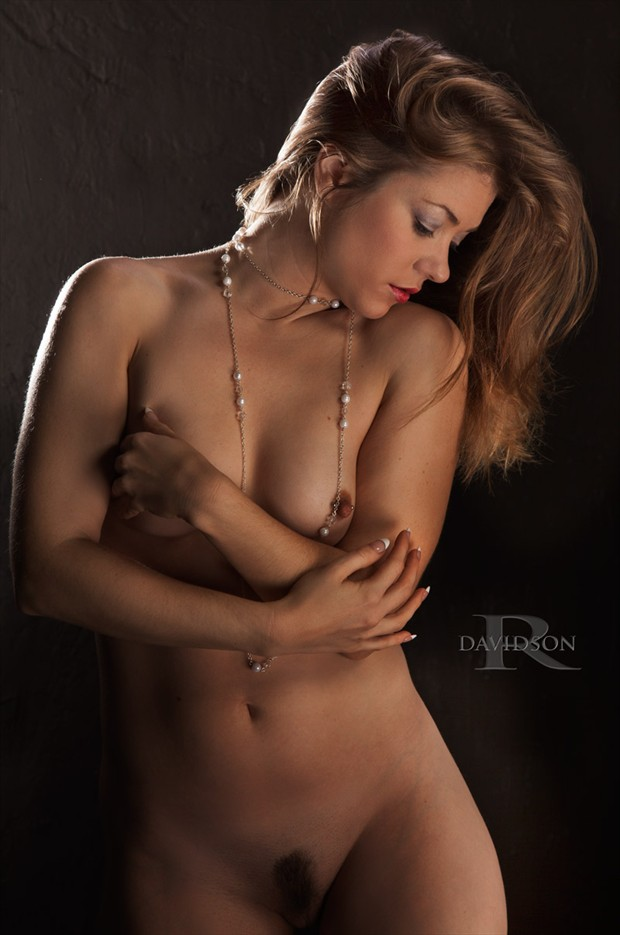 Rebecca Lawrence Artistic Nude Photo by Photographer D A V I D S O N