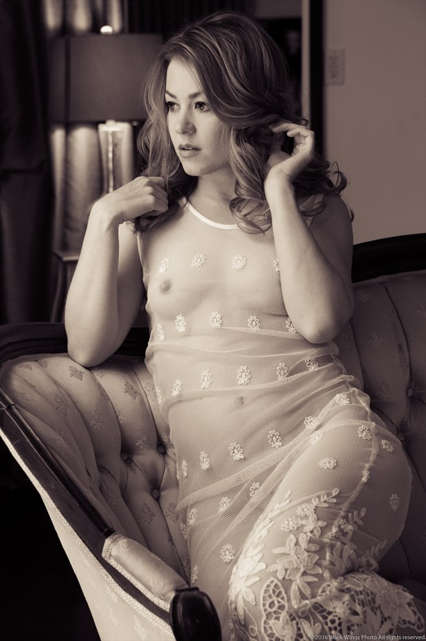 Rebecca Lawrence Lingerie Photo by Photographer Black Wings