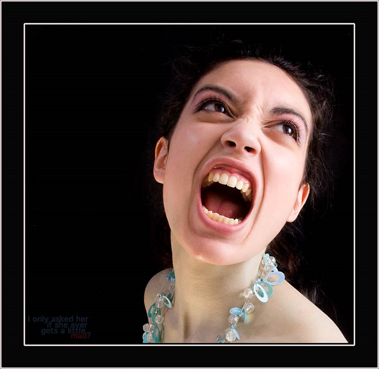 Rebecca Tunn Expressive Portrait Photo by Photographer Malcolm  Mellon