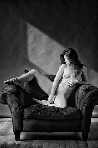 Rebecca in Chair Artistic Nude Photo by Photographer BillySheahan