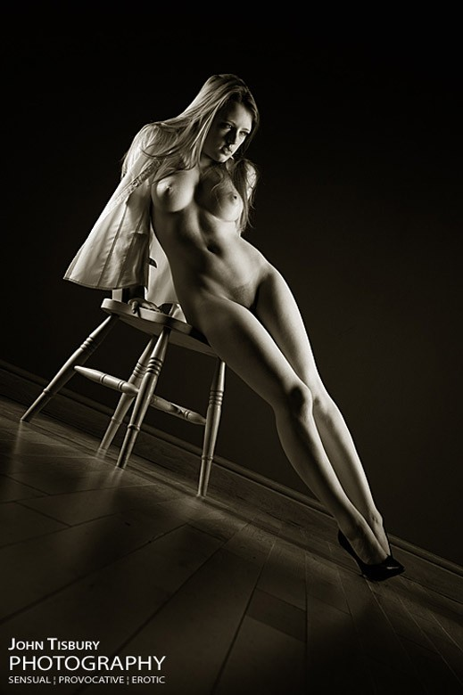 Reclined Artistic Nude Photo by Photographer John Tisbury