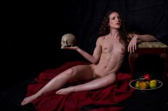 Reclining Nude   Vanitas   Kiera Artistic Nude Photo by Photographer Conjure Digital