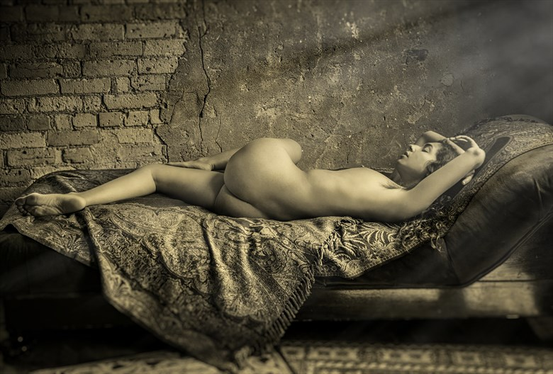 Reclining Nude  Artistic Nude Photo by Photographer Risen Phoenix