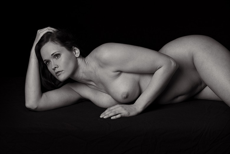 Reclining Nude Figure Study Photo by Photographer FortWayneMike