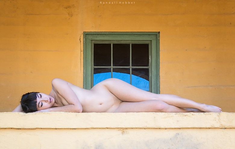 Recumbent Artistic Nude Photo by Photographer Randall Hobbet