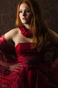 Red  Photography by Kestrel  Fashion Photo by Model Gingerface