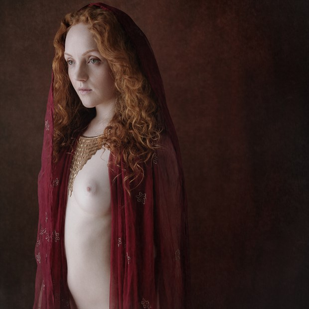 Red Artistic Nude Photo by Photographer Andy G Williams
