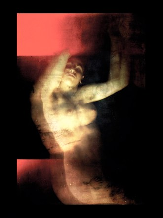 Red Artistic Nude Photo by Photographer Jeff Levine