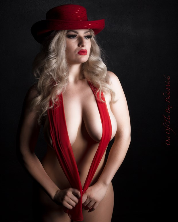 Red Artistic Nude Photo by Photographer Miller Box Photo
