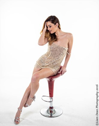 Red Chair Glamour Photo by Photographer Liam Dean
