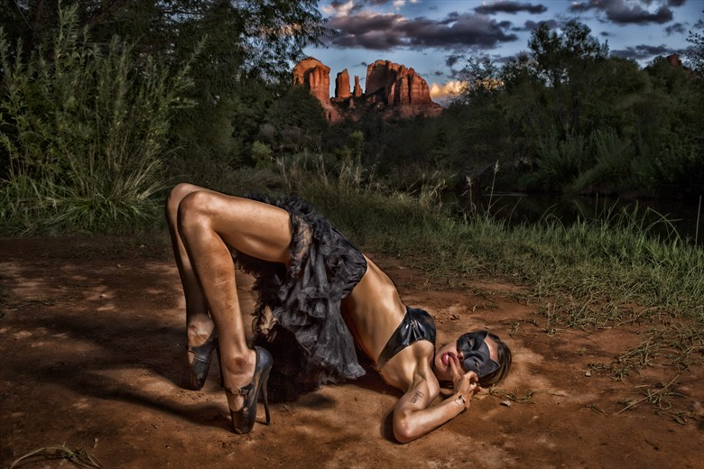 Red Rocks Erotic Artwork by Photographer theColbyFiles