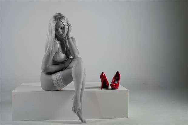 Red Shoes Abstract Photo by Photographer Slim