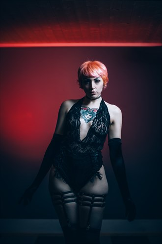 Red light  Tattoos Photo by Model Alicia Red