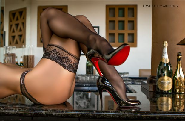 Red shoe diaries Lingerie Photo by Photographer Dave Kelley Artistics