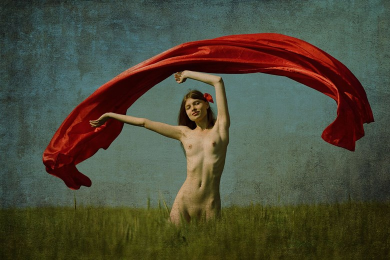 Red vail Artistic Nude Photo by Model Florence