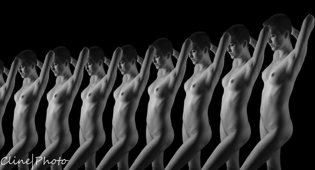 Reflection Artistic Nude Photo by Photographer ClinePhoto