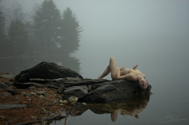 Reflective Body Artistic Nude Photo by Artist Kevin Stiles