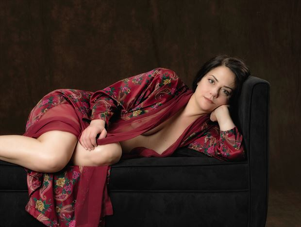 Relaxed waiting Erotic Photo by Model JessicaKlaus