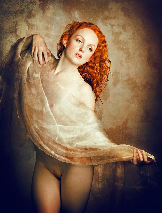 Renaissance in Red Artistic Nude Photo by Photographer MaxOperandi
