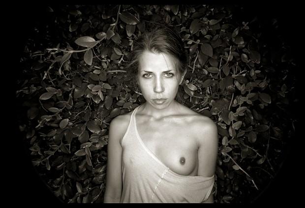 Renee In My Garden Artistic Nude Photo by Photographer R. Michael Walker