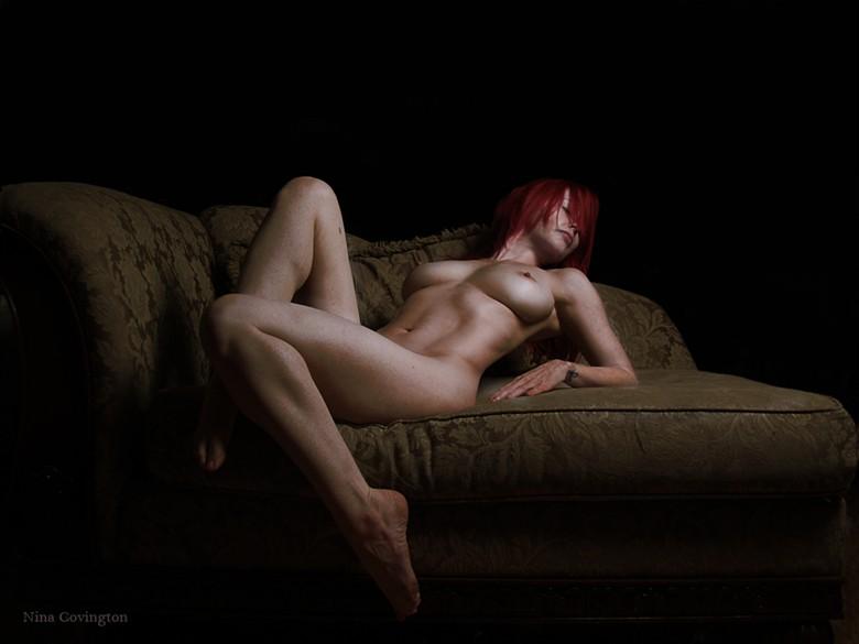 Repose Artistic Nude Photo by Model Nina Covington