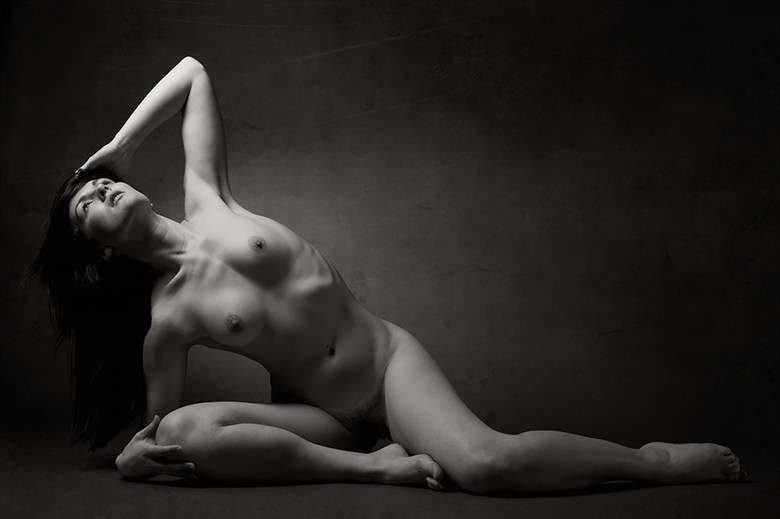 Repose Artistic Nude Photo by Photographer Mick Waghorne