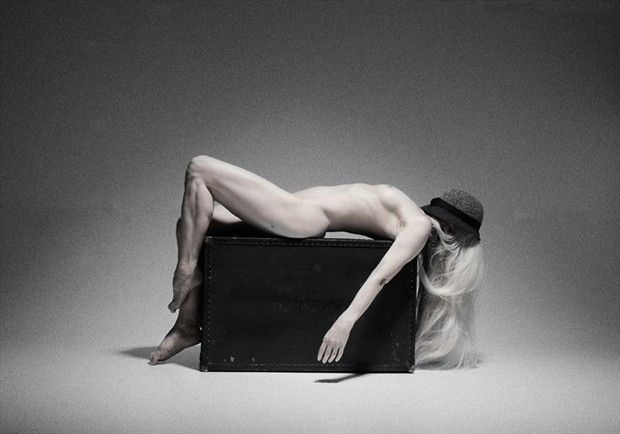 Resting Artistic Nude Photo by Model AlexB