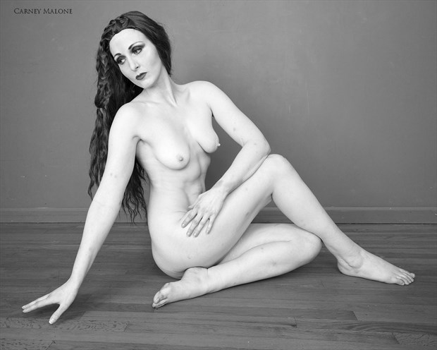 Resting Artistic Nude Photo by Model Mimsey