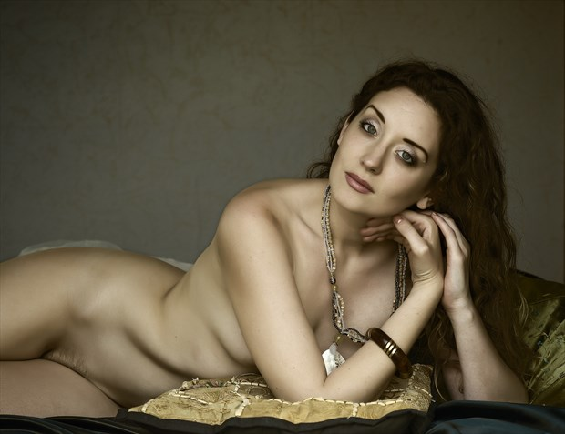 Resting Artistic Nude Photo by Photographer Ray Kirby